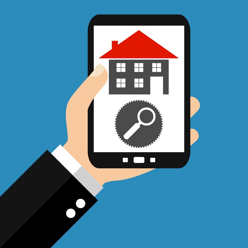 Home search on smartphone